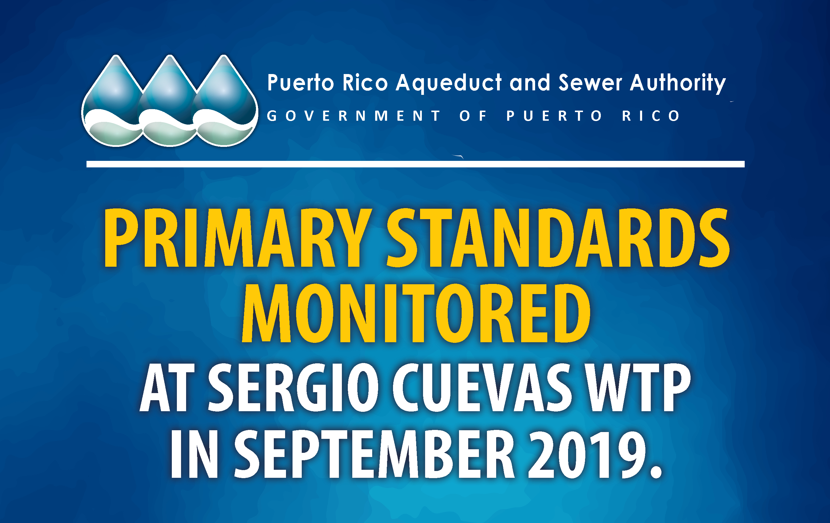 Primary standards monitored